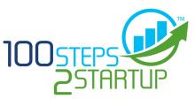 100 Steps 2 Startup logo